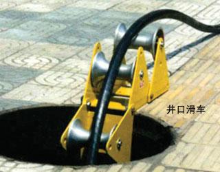 井口电缆滑车