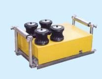 滚轮式电缆输送机